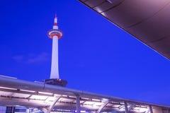 Estação de Kyoto em Kyoto, Japão Fotos de Stock
