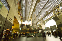 Estação de Kyoto, Japão Imagem de Stock Royalty Free
