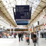 Estação de Londres Victoria Fotografia de Stock