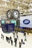 Estação de Londres Waterloo imagens de stock