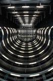 Estação de metro branca em Barcelona imagens de stock royalty free