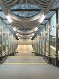 Estação de metro da arquitetura fotos de stock royalty free