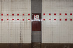 34a estação de metro da rua Fotografia de Stock Royalty Free