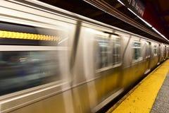 34a estação de metro da rua - NYC Imagem de Stock