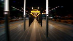 Estação de metro de Córdova em Avenida 9 de Julio em Buenos Aires Fotografia de Stock Royalty Free
