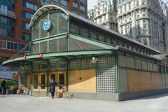 Estação de metro de New York Imagens de Stock
