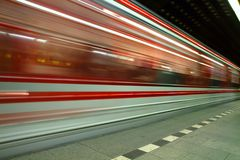 Estação de metro de Praga Foto de Stock Royalty Free