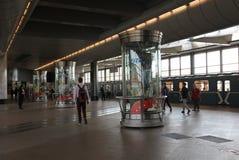 Estação de metro dos montes do pardal em Moscou, Rússia Foto de Stock