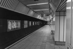 Estação de metro em Newcastle Reino Unido imagens de stock