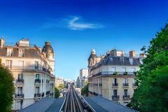 Estação de metro em Paris imagens de stock royalty free