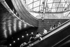 34a estação de metro New York de Hudson Yards da rua Fotos de Stock