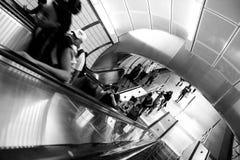34a estação de metro New York de Hudson Yards da rua Imagem de Stock