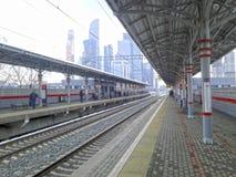 Estação de metro de Shelepikha Fotografia de Stock Royalty Free