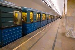 Estação de metro subterrânea Foto de Stock Royalty Free