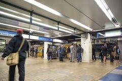 Estação de metro subterrânea de Sydney em Austrália imagem de stock royalty free