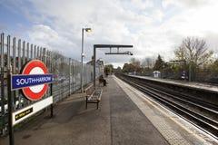 Estação de metro sul da grade Fotografia de Stock Royalty Free
