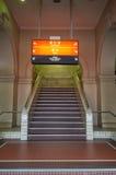 Estação de metro urbana da estação central em Brisbane Austrália Foto de Stock Royalty Free