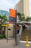 Estação de metro urbana da estação central em Brisbane Austrália Foto de Stock