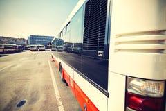 Estação de ônibus Fotografia de Stock Royalty Free