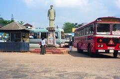 Estação de ônibus de Sri Lanka imagens de stock royalty free