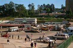 Estação de ônibus, Mbabane, Suazilândia Imagem de Stock