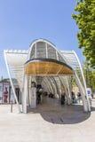 Estação de ônibus moderna Gare Routiere em Aix en Provence Fotos de Stock Royalty Free