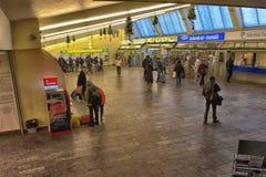 estação de ônibus Riga para dentro Fotos de Stock Royalty Free