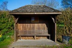 Estação de ônibus vazia Imagem de Stock