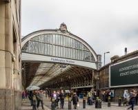Estação de Paddington em Londres Imagens de Stock