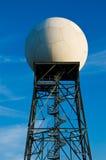 Estação de radar do tempo imagens de stock