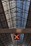 Estação de Rossio em Lisboa, Portugal imagens de stock royalty free