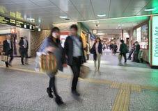 Estação de Shinjuku do Tóquio Fotografia de Stock