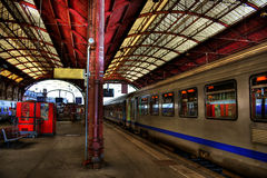 Estação de Strasbourg HDR Imagens de Stock Royalty Free