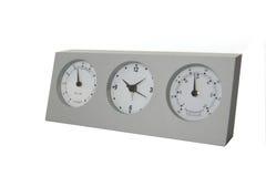 Estação de tempo análoga Fotos de Stock Royalty Free