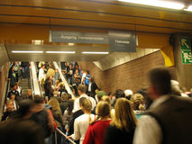 Estação de Theresienwiese - de Oktoberfest U-Bahn Imagens de Stock Royalty Free
