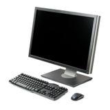 Estação de trabalho do computador isolada imagem de stock