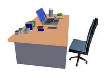 estação de trabalho do portátil Imagens de Stock