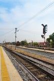 Estação de trem Fotografia de Stock