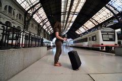 Estação de trem foto de stock royalty free