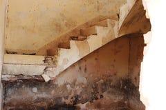 Estação de trem abandonada em Albacete foto de stock