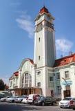 Estação de trem central do passageiro de Burgas Fotos de Stock Royalty Free