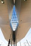 Estação de trem central nova em Viena Fotografia de Stock