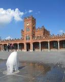 Estação de trem de Aalst Fotos de Stock Royalty Free