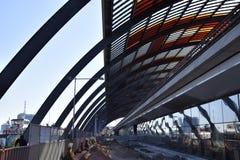 Estação de trem de Amsterdão imagens de stock royalty free