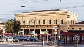 Estação de trem de Centrale da Bolonha imagens de stock