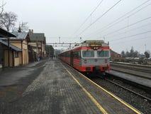 Estação de trem de Gjovik Imagem de Stock