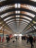 Estação de trem de Milão Centrale Foto de Stock