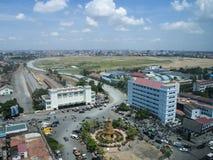Estação de trem de Phnom Penh Fotografia de Stock