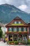 Estação de trem de Stanserhornbahn Imagens de Stock Royalty Free