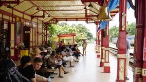 Estação de trem de Tailândia Fotografia de Stock